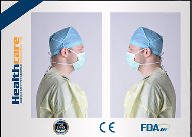 China Ropa protectora no tejida estéril disponible para los doctores/paciente no reutilizable fábrica