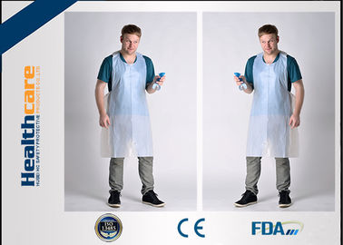 China Delantal coloreado médico del HDPE del LDPE paciente disponible de los baberos y de Underpads del CE del FDA fábrica